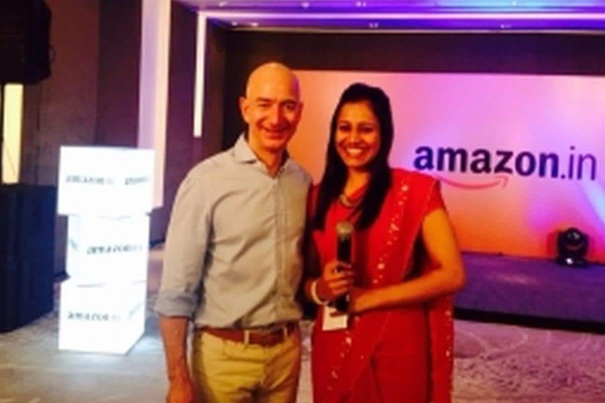 Meeting Jeff Bezos