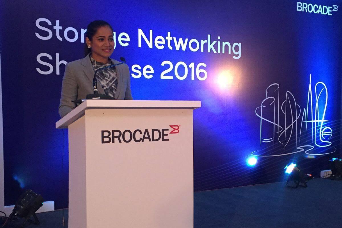 Brocade - Storage Networking Showcase 2016