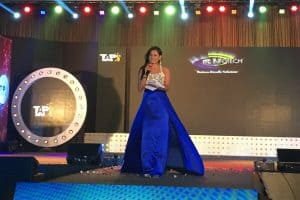 Hosting an event for ITC infotech