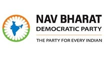 Nav Bharat Democratic Party logo