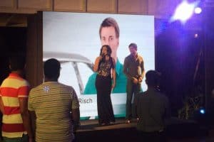 Anchor Reena with Audi - 10 years of celebration